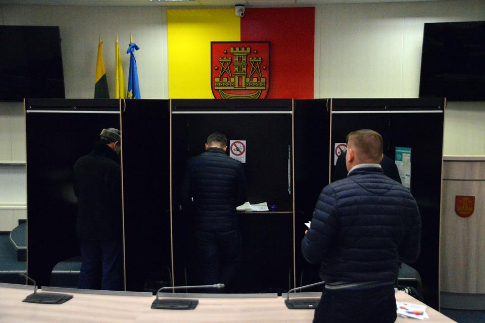 Prasidėjo išankstinis balsavimas savivaldos rinkimuose