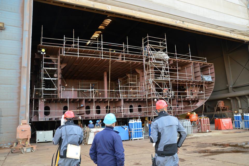 Laivų statytojai ir remontininkai – vis dar lyg našlaičiai