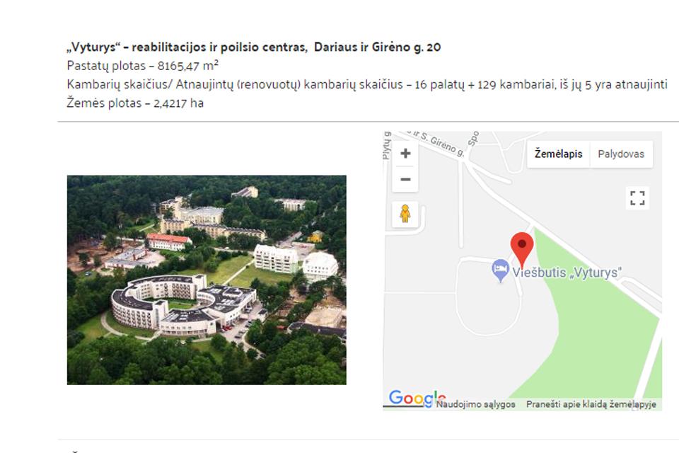 """""""Baltijos"""" poilsio namai nieko nesudomino"""
