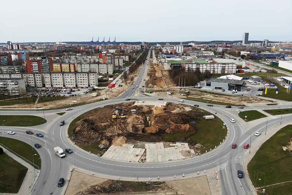 Dėl Baltijos pr. sankryžos rekonstrukcijos – nauji iššūkiai