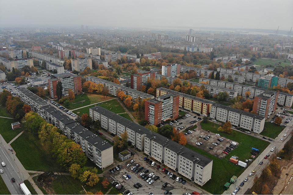 Klaipėdos būsto rinka sumenko penktadaliu