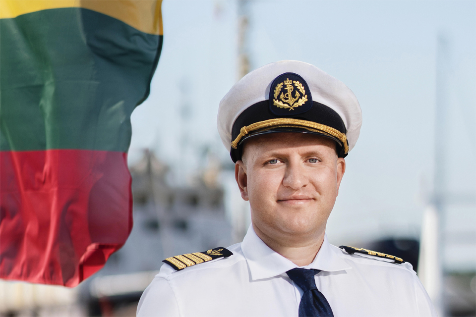 """Kapitonas M. Bastakis: """"Turime didžiulį potencialą tapti konkurencinga jūrine valstybe"""""""