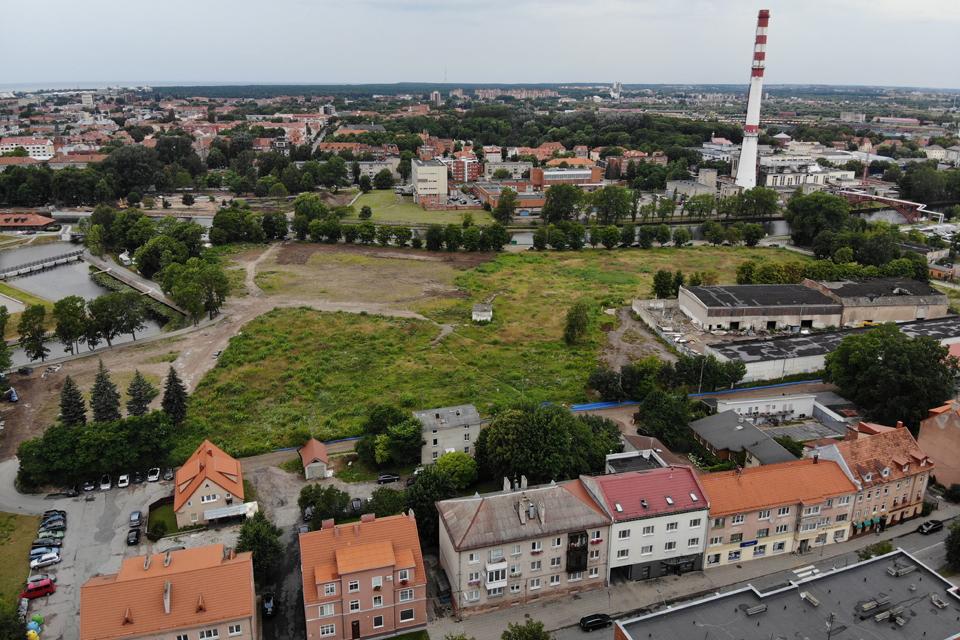 Prie Klaipėdos senamiesčio – naujas kvartalas