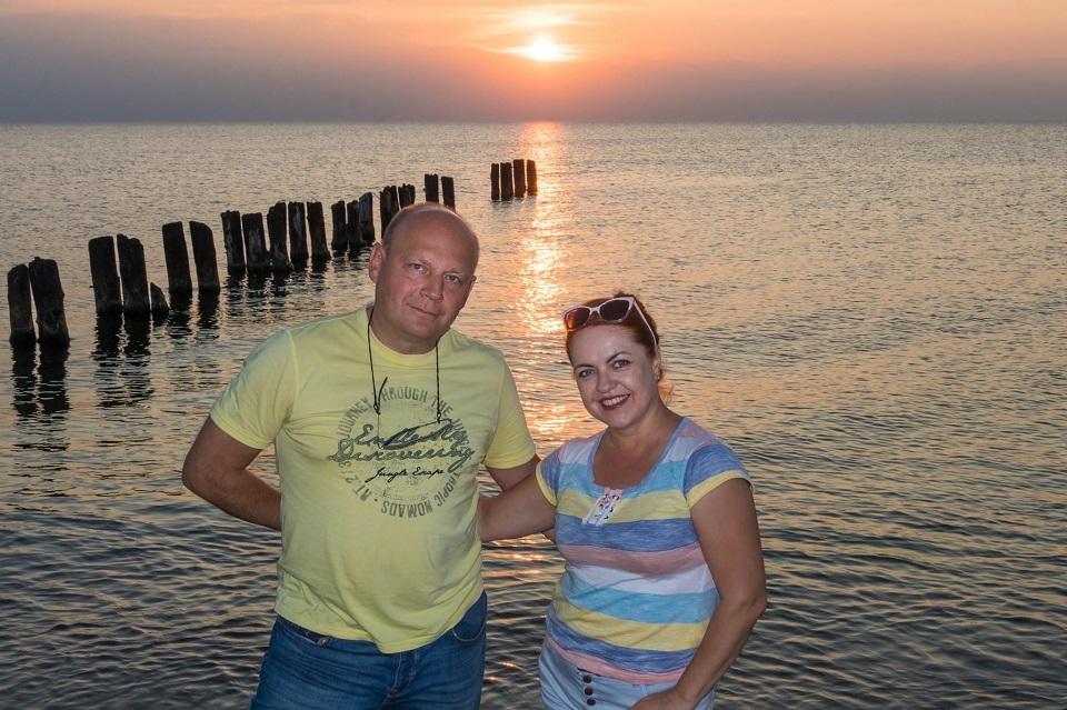 Andžela ir Viačeslavas Bazyk: įsimylėję Klaipėdą