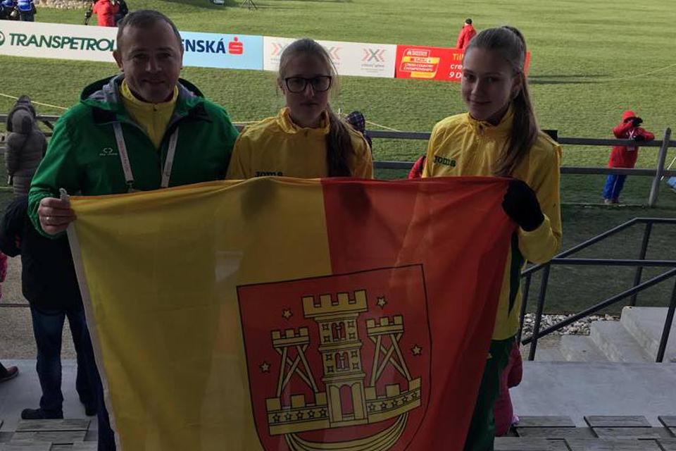 Klaipėdietė Europos čempionate pasirodė geriausiai tarp Baltijos šalių bėgikų
