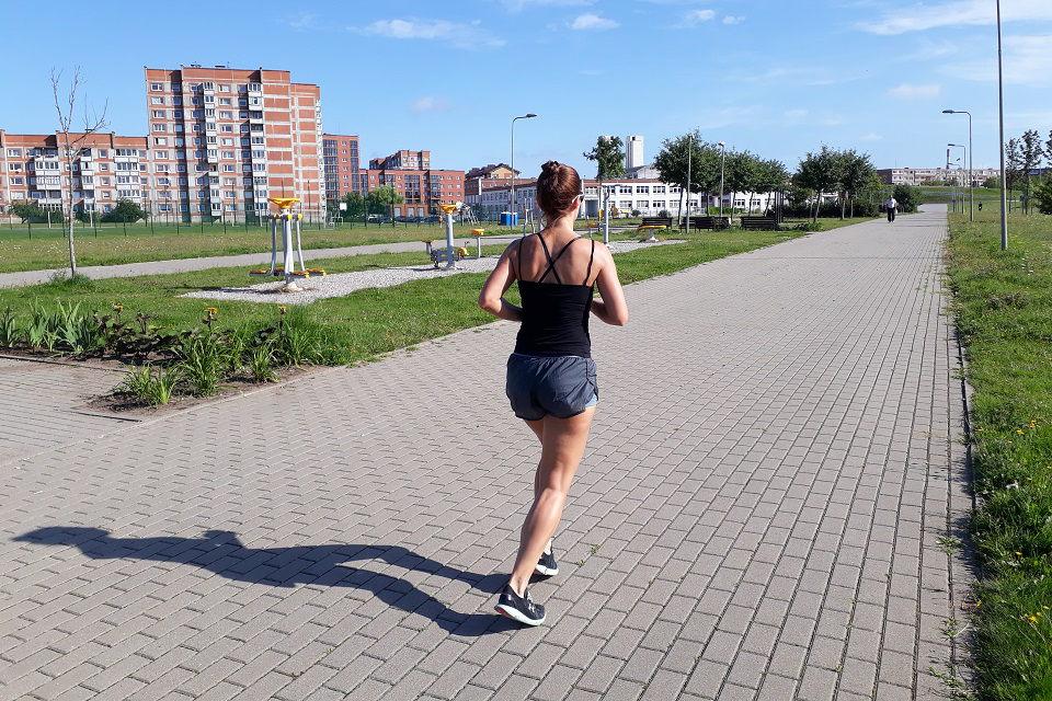 Kad bėgimas netaptų kančia