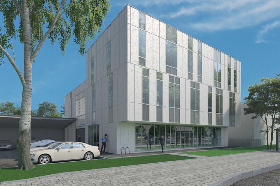 """Verslas išsikrausto iš """"Memelio miesto"""": planuojamas naujas biurų pastatas"""