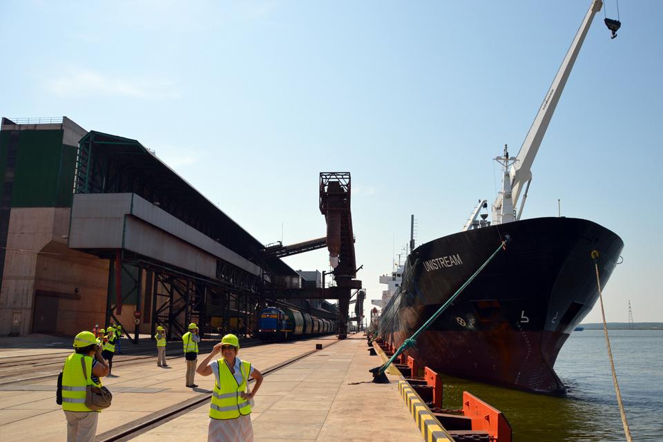 Спад в Клайпедском порту несоизмерим с потерями у соседей