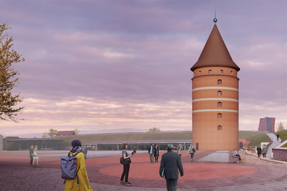 Didžiausias pilies bokšto statybų iššūkis – kaip atskleisti jo liekanas
