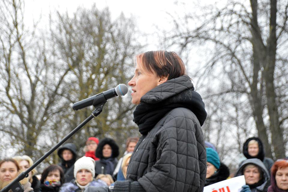 Klaipėdietė parašė knygą apie mokytojų streiką