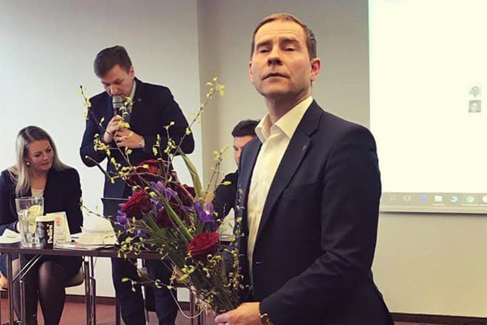 Klaipėdos liberalams vadovaus Saulius Budinas