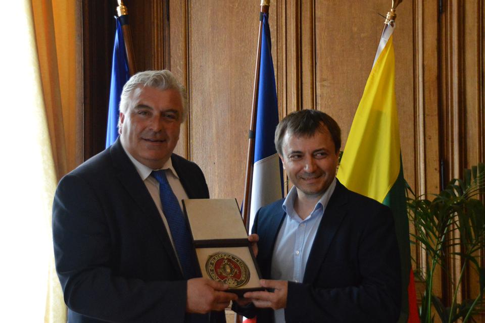 Prancūzijos miestas nori bendradarbiauti su Klaipėda