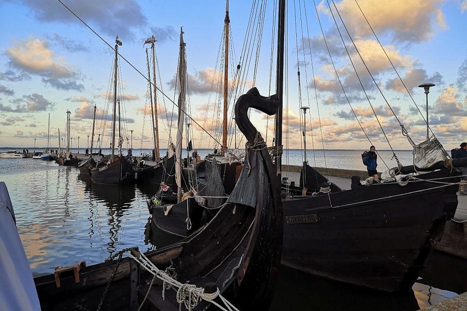 """Nidoje – tradicinių burlaivių regata """"Burpilis 2021"""""""