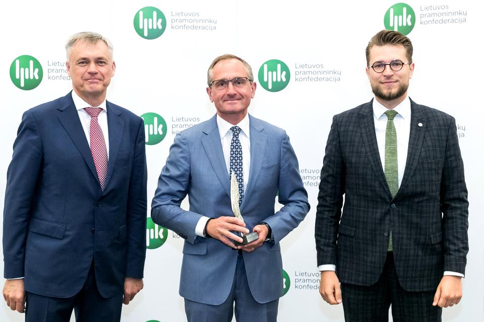 Vakarų laivų gamykla jau aštuntą kartą tapo Lietuvos metų eksportuotoja