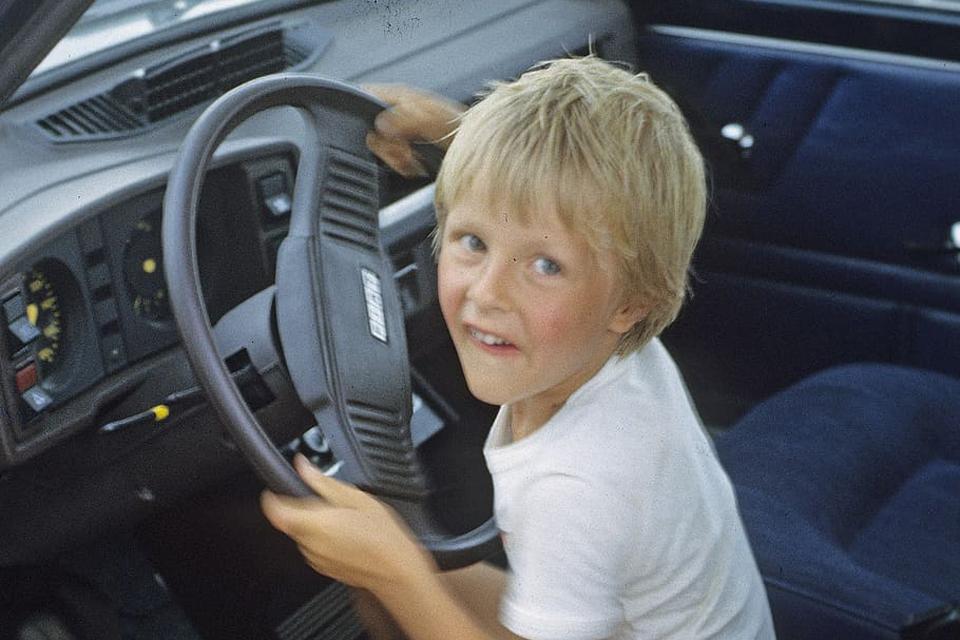 Gatvėje – devynmetis vairuotojas