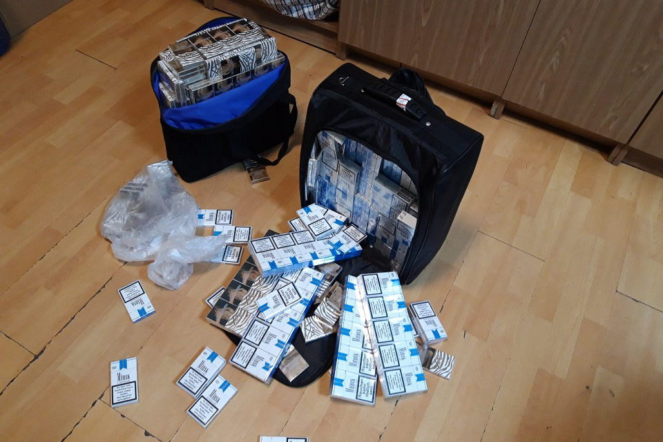 Kontrabandinės cigaretės – rankiniame bagaže
