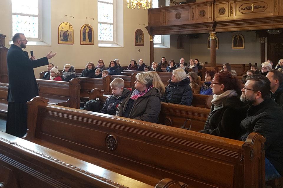 Bažnyčioje – šventinis pokalbis apie išbandymus ir Dievo dovanas