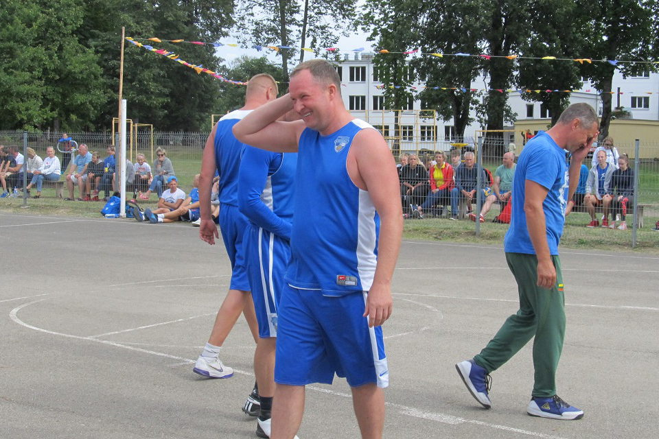 Darbėnai buvo tapę krepšinio 3×3 sostine