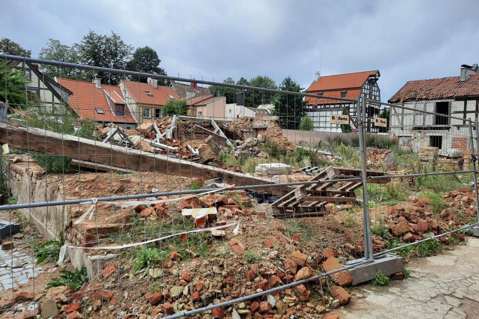 Klaipėdos senamiesčio pastatų griovėjai toliau ignoruoja paveldosaugininkus