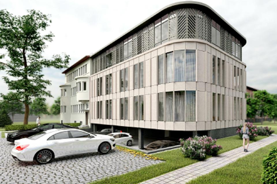 """Planai miesto centre: prie vertingo pastato """"prilipdys"""" naują daugiabutį"""