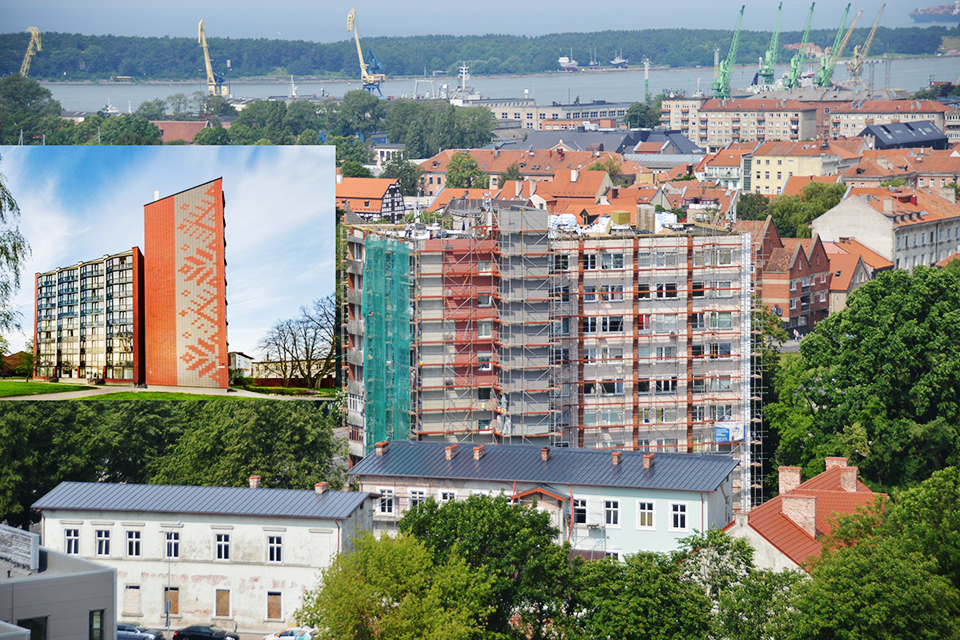 Klaipėdos daugiabutis – metų renovacijos projektas