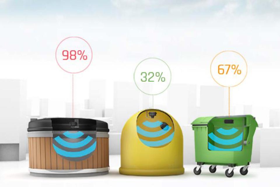 Klaipėdiečių kiemuose – išmanūs atliekų konteineriai