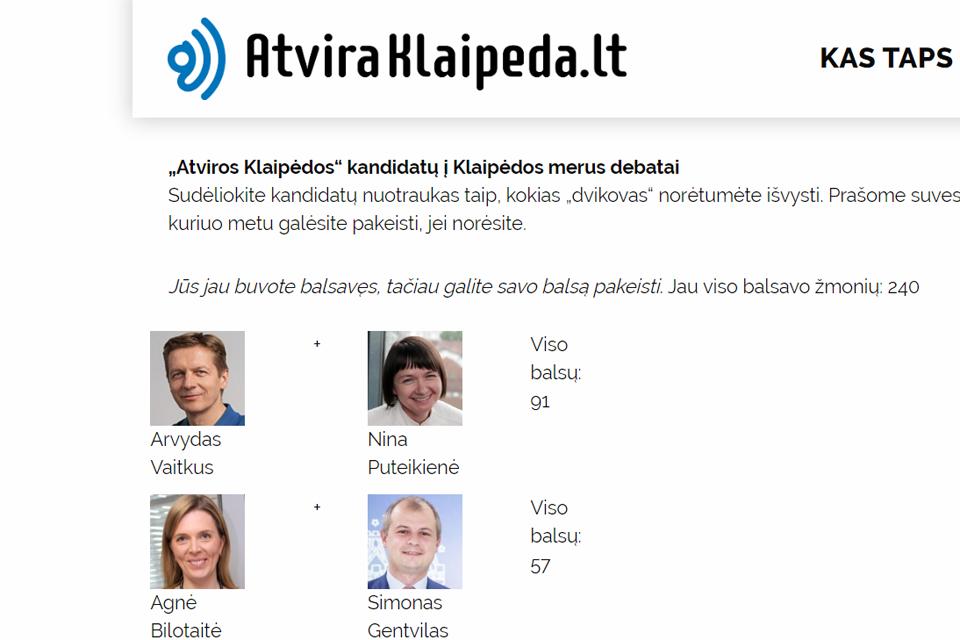 Debatų platforma: trečios dienos rezultatai