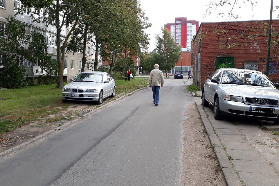 Naujos vietos automobiliams – ir medžių sąskaita?
