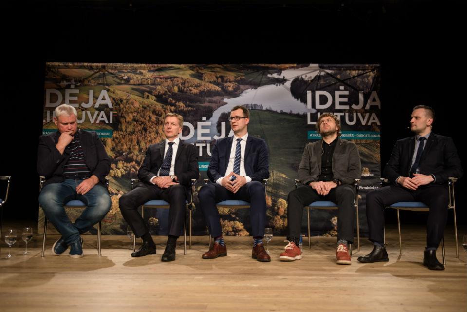 Klaipėdai ir Lietuvai pasiūlytos nerealios idėjos