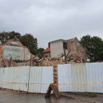 Nugriovė dar vieną senamiesčio pastatą