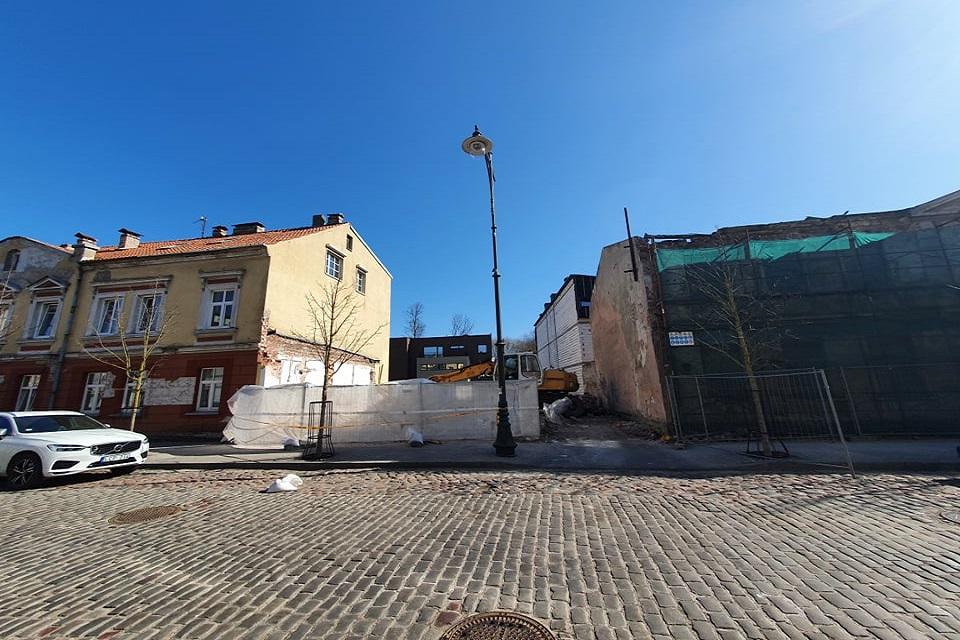 Detektyvas Klaipėdos centre: pastato nebėra, bet jis nenugriautas
