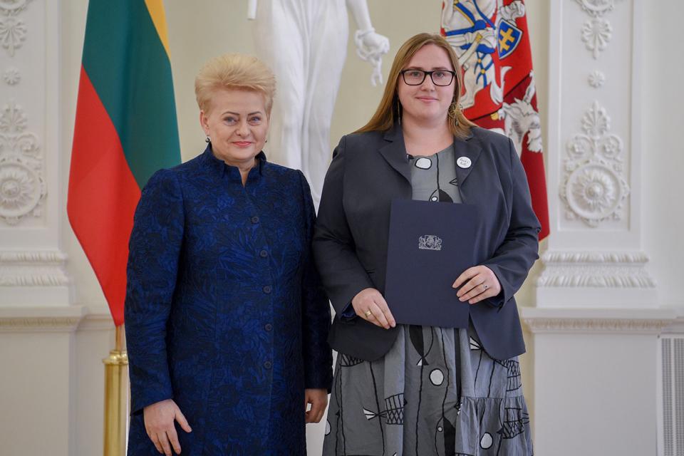 Klaipėdietė žurnalistė – Nacionalinio diktanto nugalėtoja