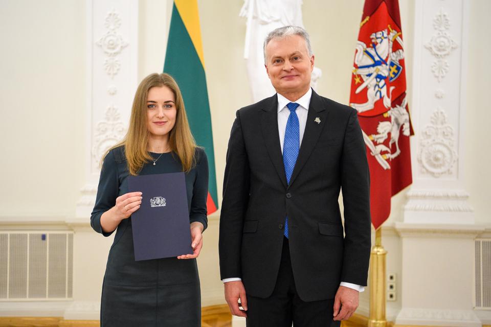 Indrė Žigeu – Geriausios disertacijos konkurso nugalėtoja