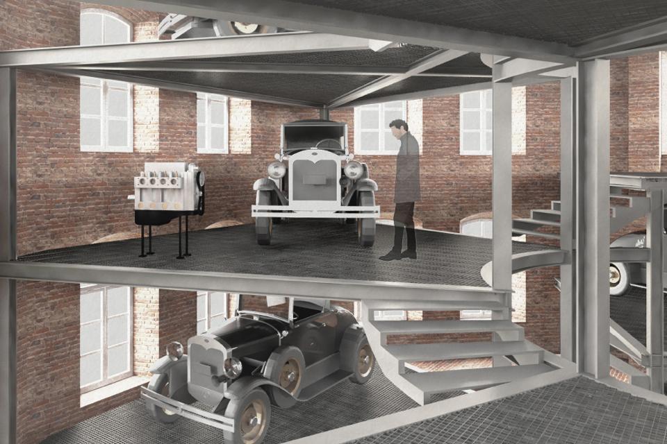 Dujų fabrike – senovinių automobilių ekspozicija