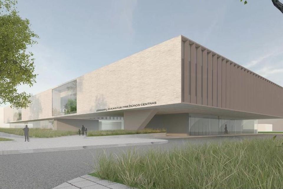 Naujajame Jūrininkų poliklinikos pastate – ir šių dienų aktualijos