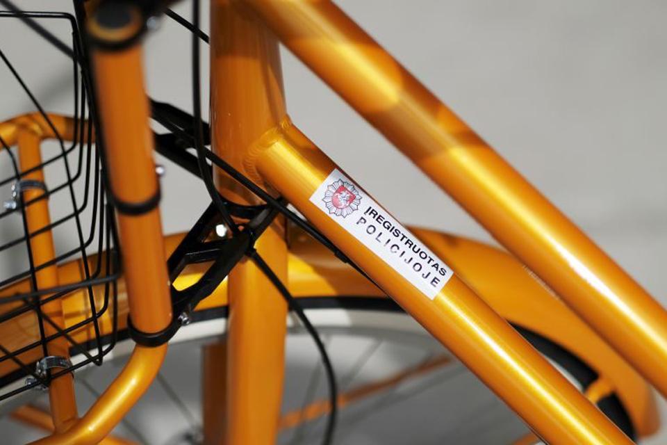 Gargžduose žymės dviračius