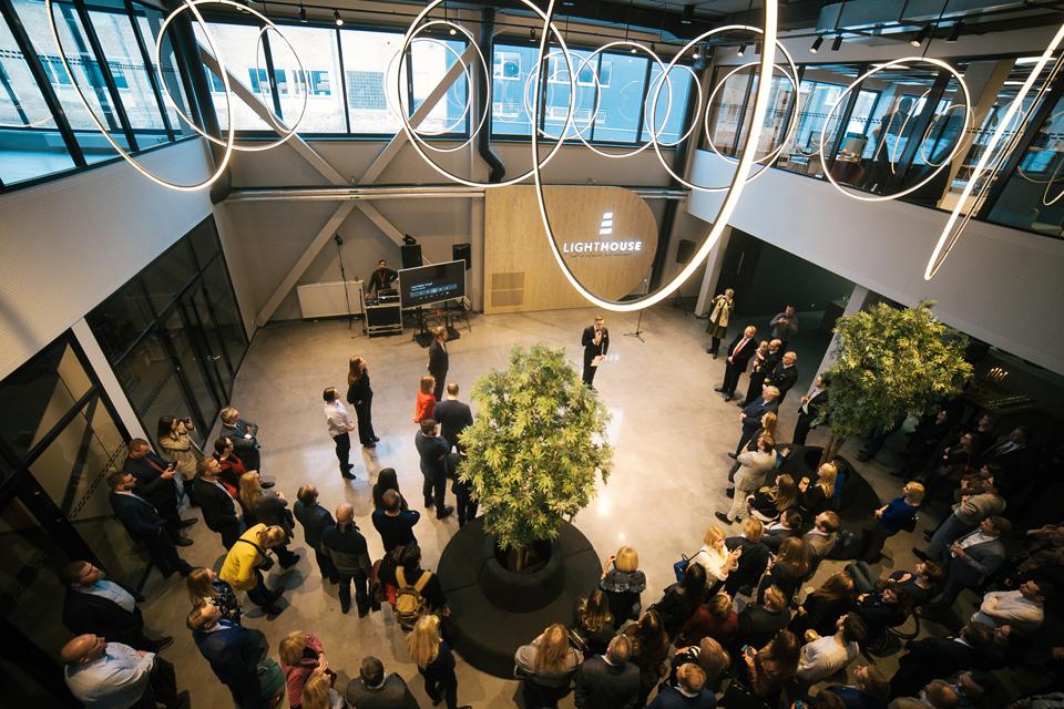 Atidaryta didžiausia Baltijos šalyse bendradarbystės erdvė