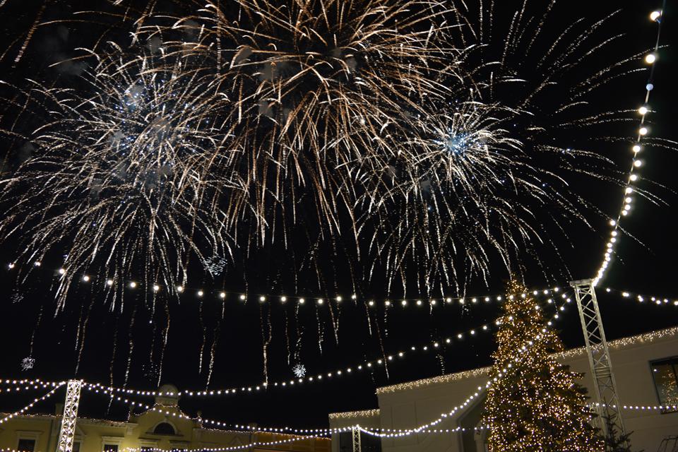 Naujųjų naktis – su pačiūžomis ir fejerverkais