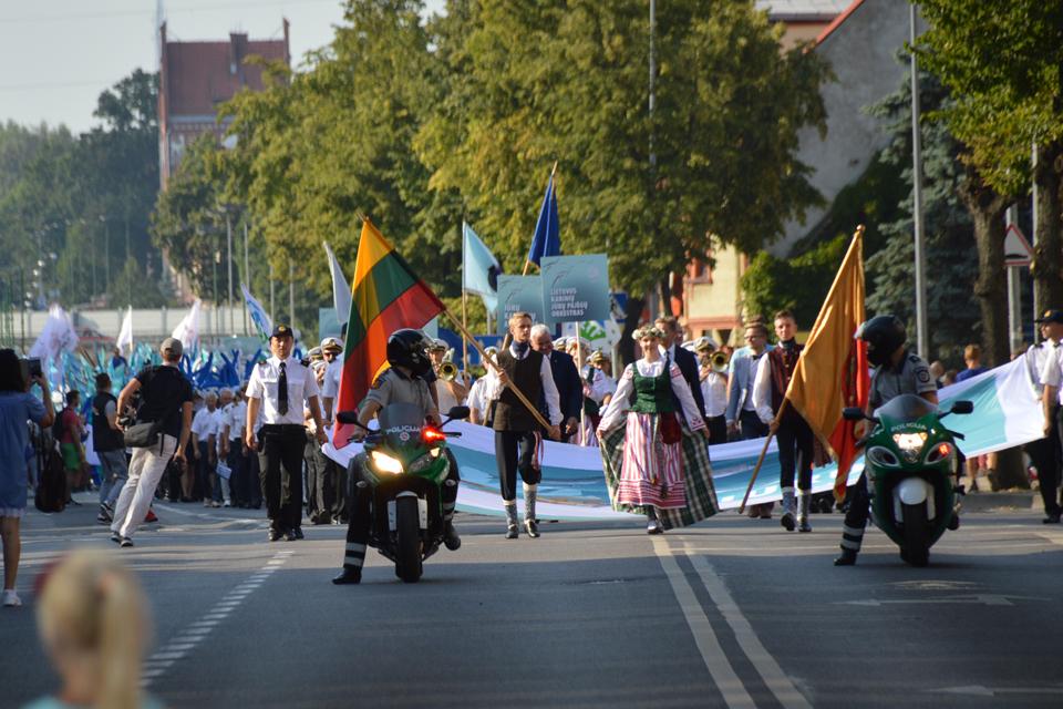 Klaipėdos bendruomenės – Jūros šventės eisenoje