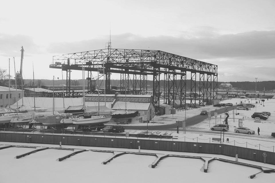 Kokia ateitis laukia senųjų laivų statyklų?