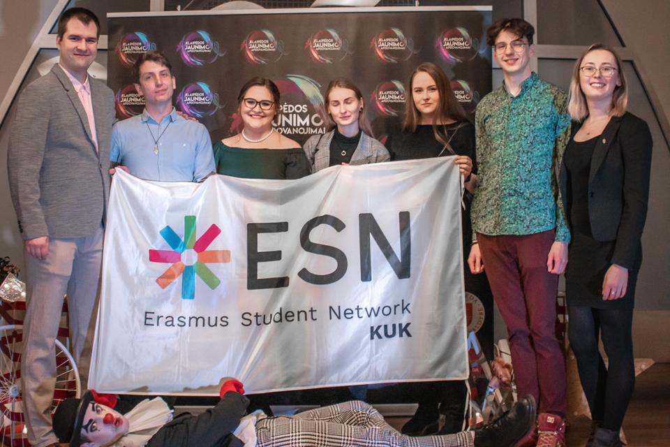 Klaipėdos studentams savanoriams – svarbus įvertinimas