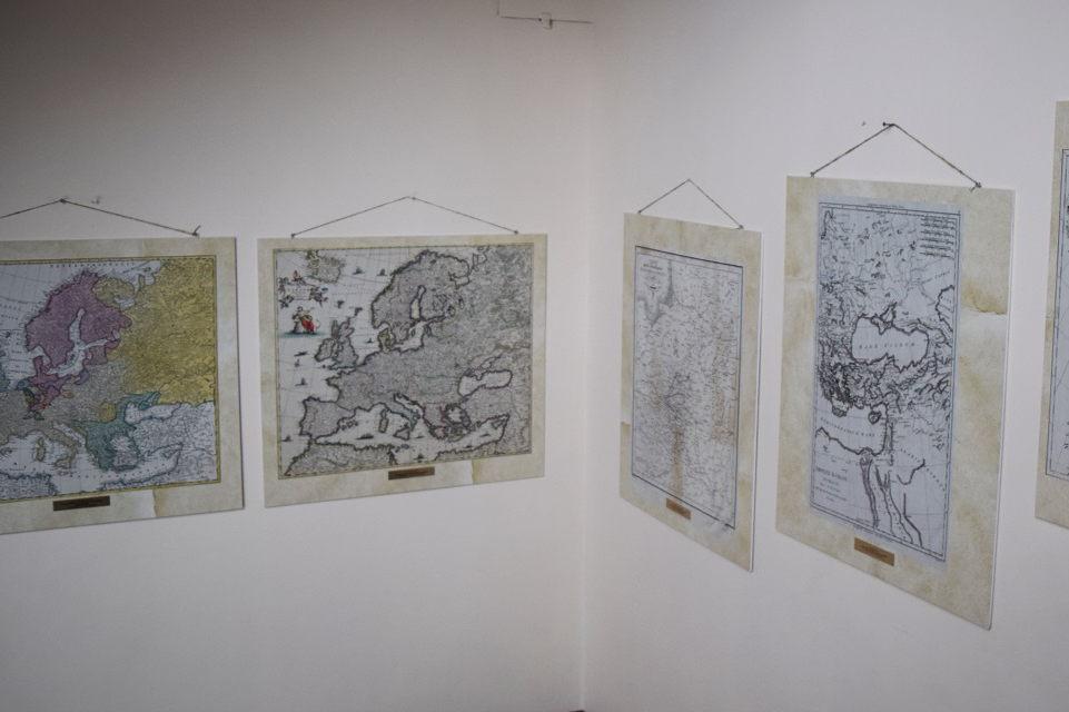 """Paroda """"Žemaitija istoriniuose Europos žemėlapiuose"""""""