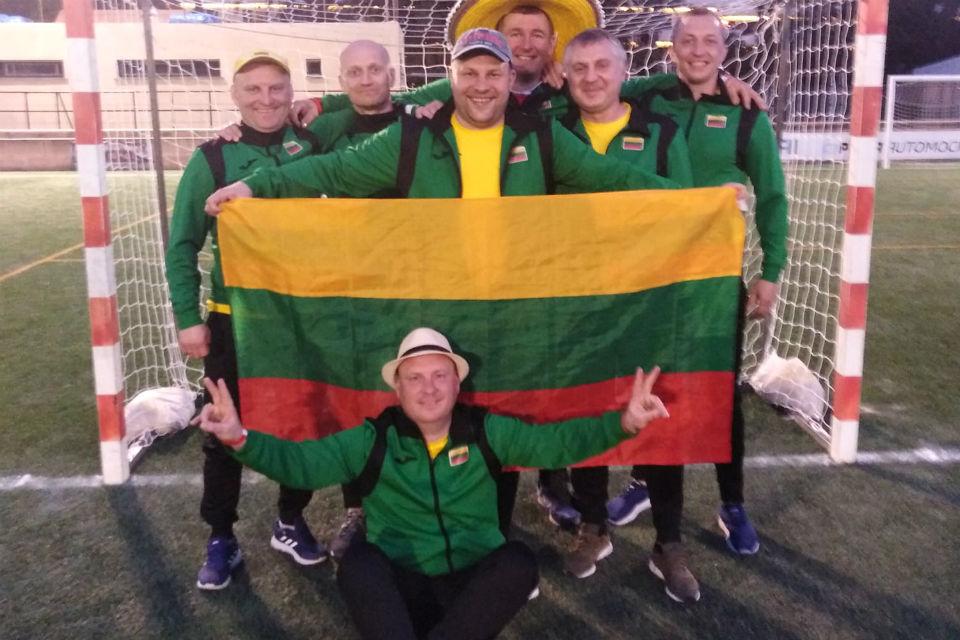 Kitas Lietuvos futbolas: nugalėta Brazilija ir Olandija