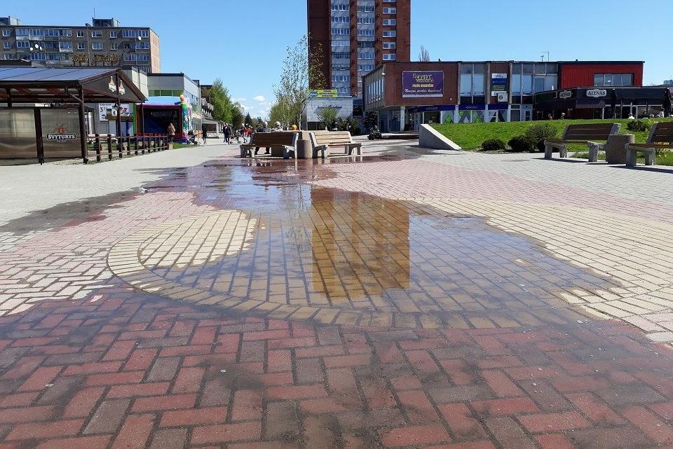 Paplūdo Debreceno fontanas