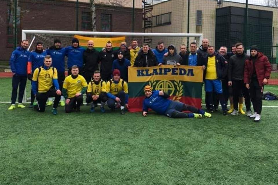 Laisvės vėjas Klaipėdoje įkvėpė futbolui