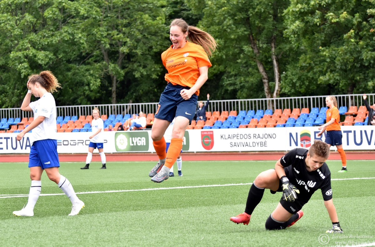 Metų pareigūnės aistra – futbolas
