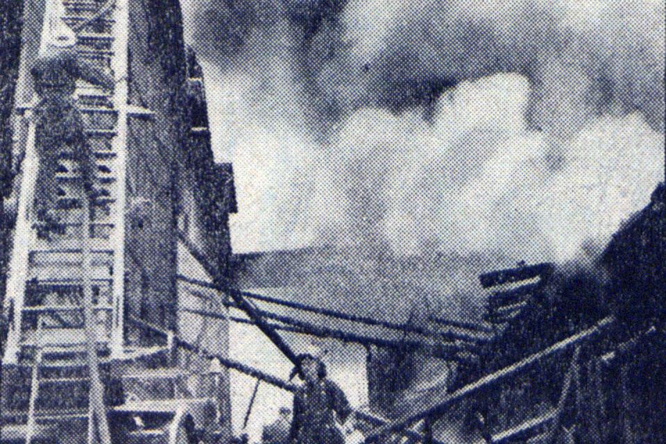 Kopgalyje – karantinas, mieste – didžiulis gaisras