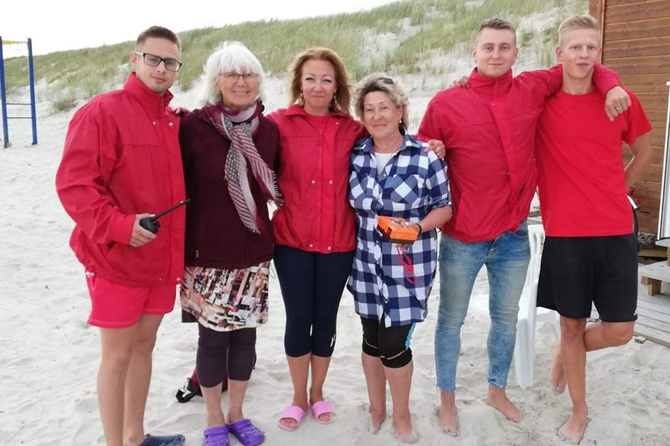 Vokietė Rita padėkojo savo išgelbėtojams
