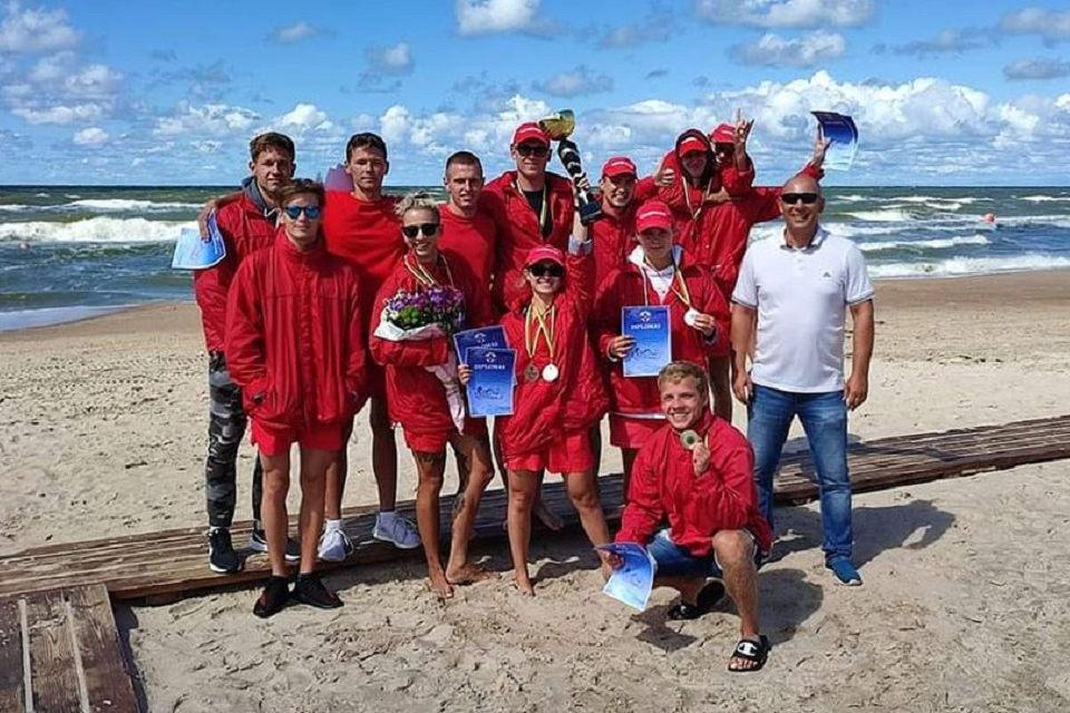Klaipėdos gelbėtojai –  čempionai