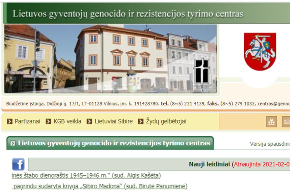 Nesutarimai ar susidorojimai vyksta Lietuvos gyventojų genocido ir rezistencijos tyrimo centre?